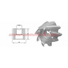 Shell End Mill Dormer D400, Dormer D420